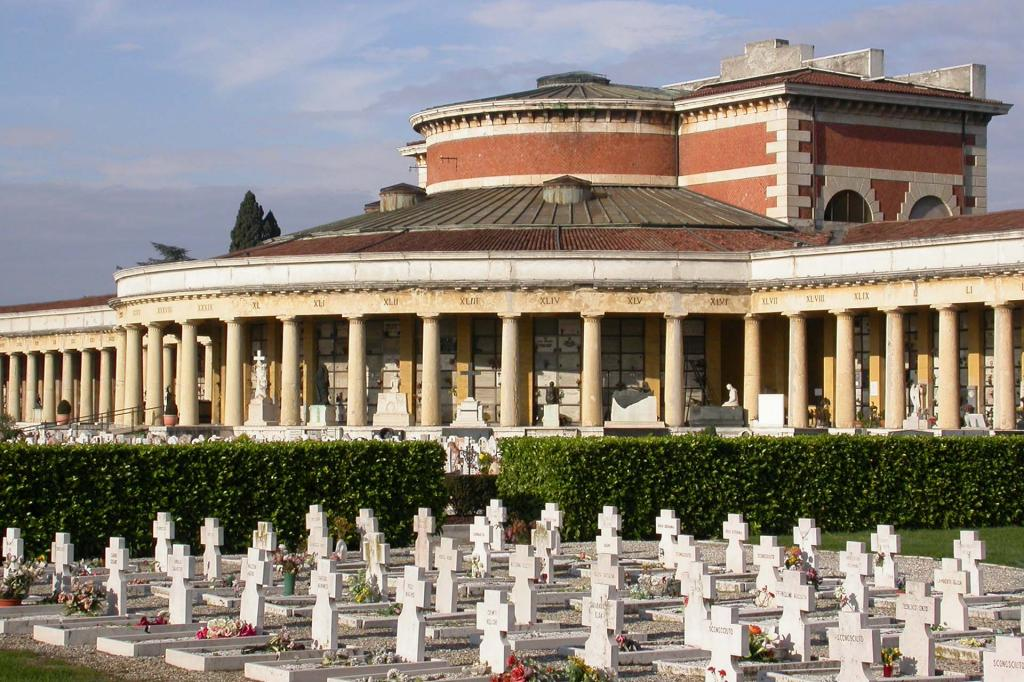 Verona Cemetery, a Work of Art